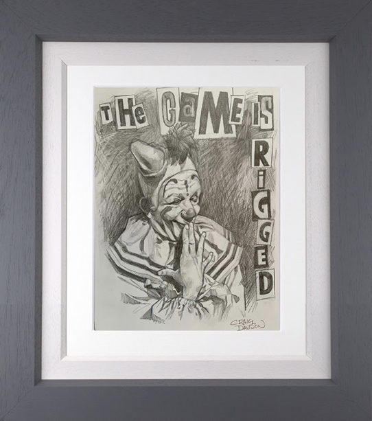 The Game is Rigged Sketch by Craig Davison
