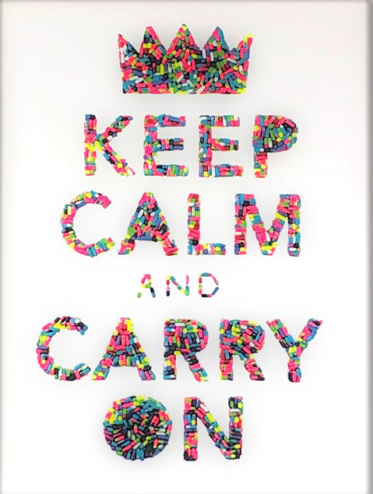 Keep Calm and Carry On by Emma Gibbons