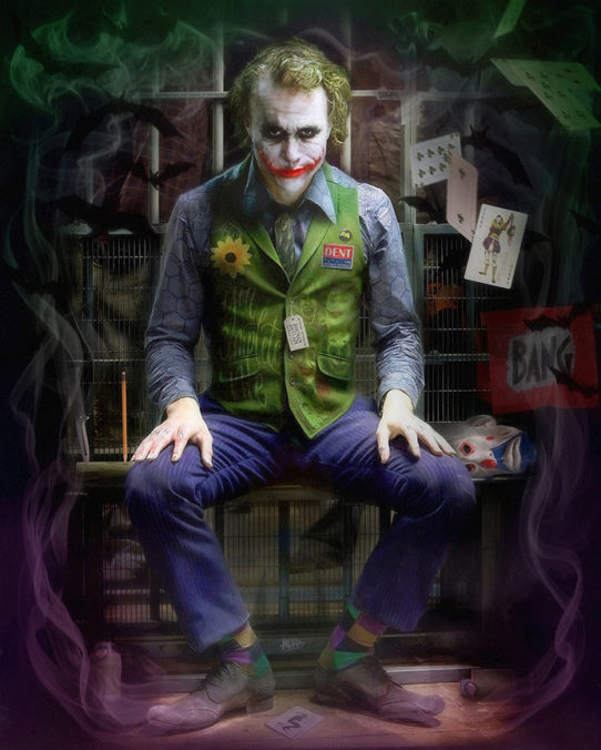 The Joker by JJ Adams