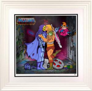 He-Man and Skeletor by JJ Adams