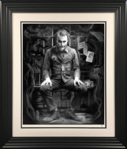 Joker Black and white by JJ Adams