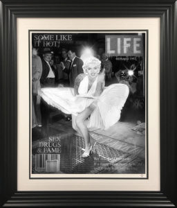 Some Like It Hot (Monroe Magazine Cover) by JJ Adams