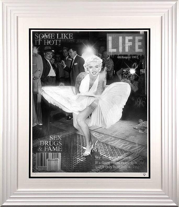 Some Like It Hot (Monroe Magazine Cover) by JJ Adams