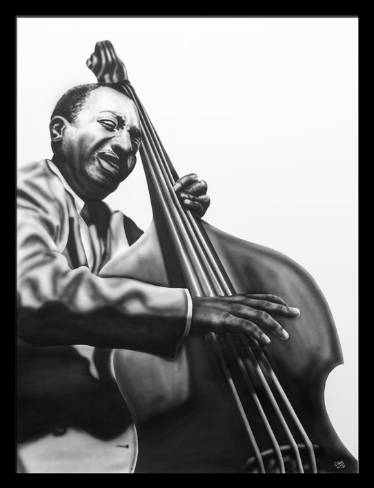 milt hinton by cham