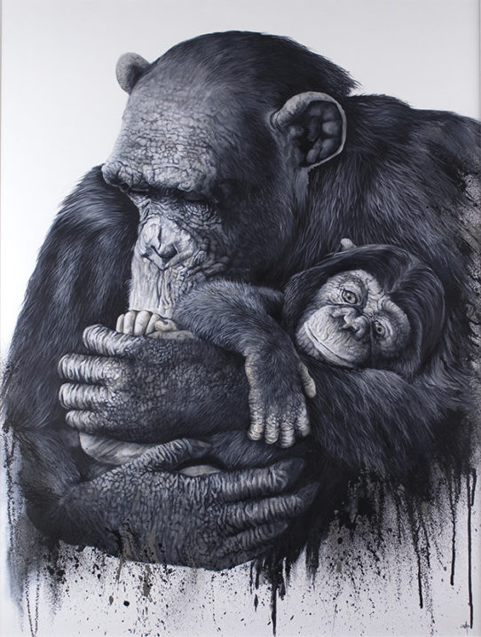 Mother and Child by Dean Martin