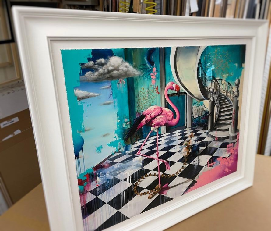 Flamingo and Orb 5