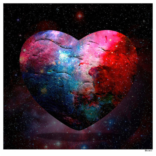 Cosmic Heart by Monica Vincent