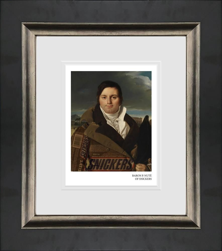 baron pnute of snickers framed