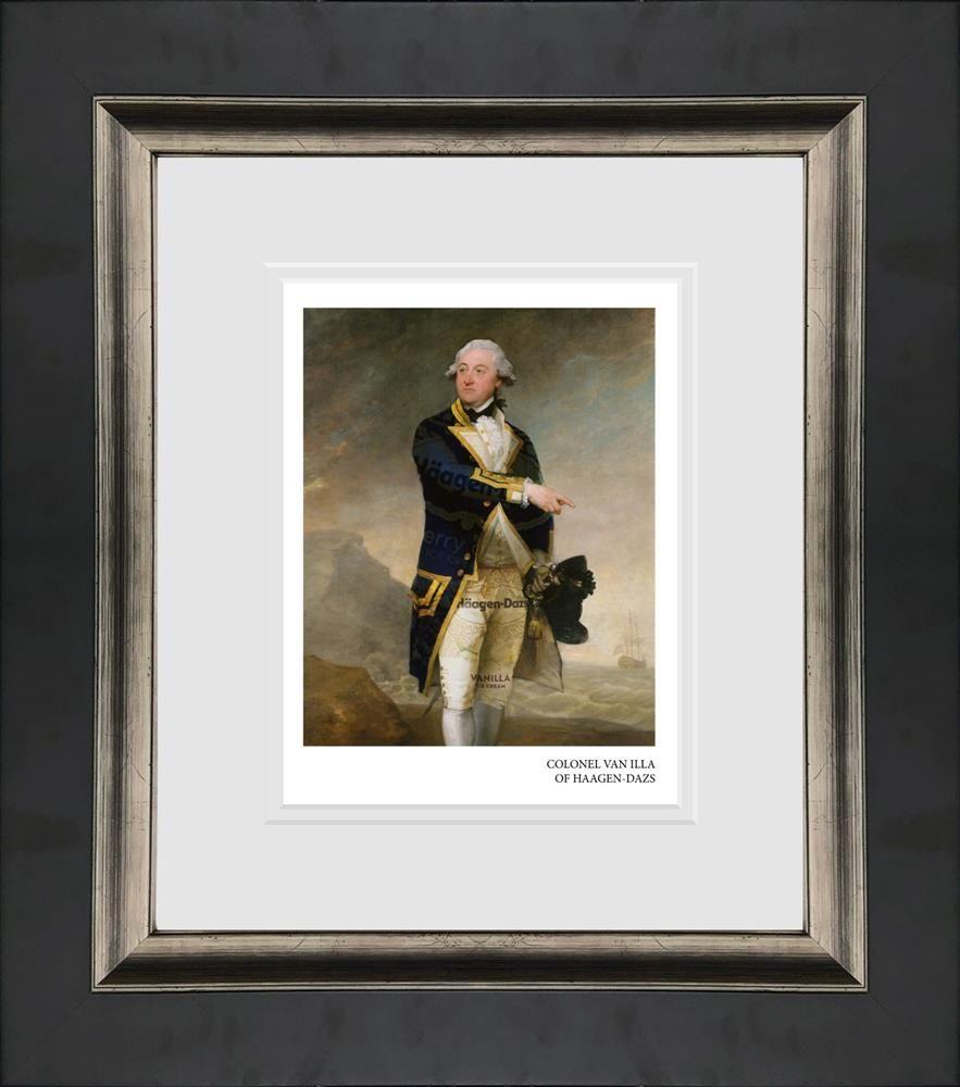 colonel van illa of haagen dazs framed