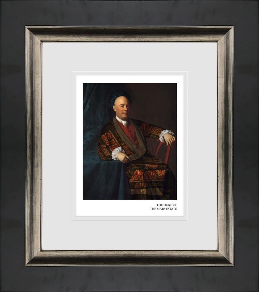 the duke of mars estate framed