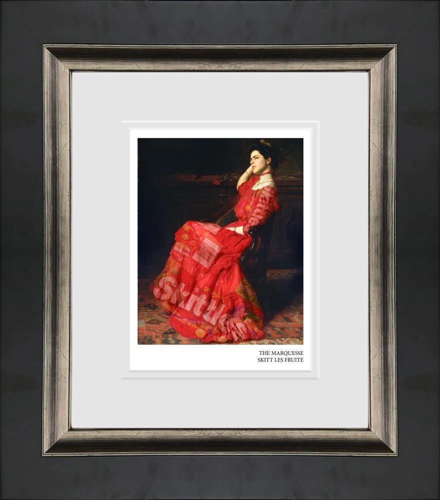 the marquesse skitt les fruite framed