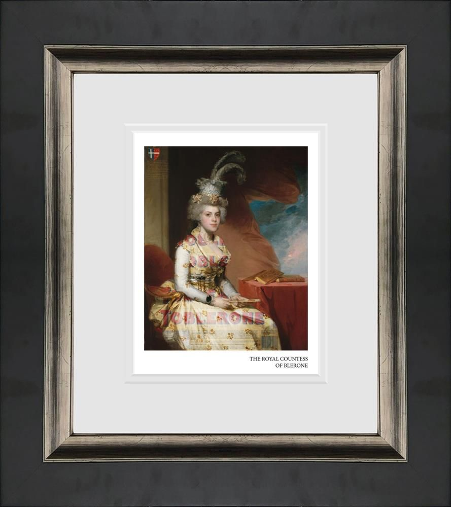 the royal countess of blerone framed