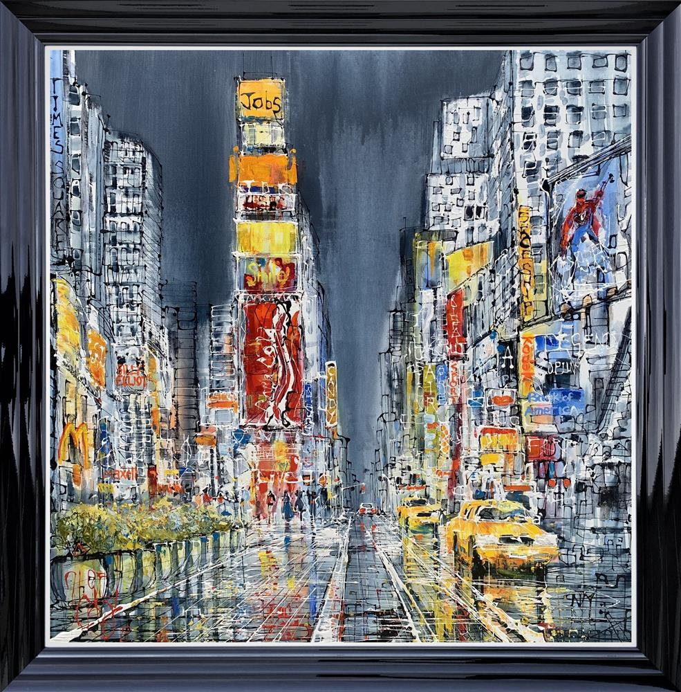 Times Square Framed