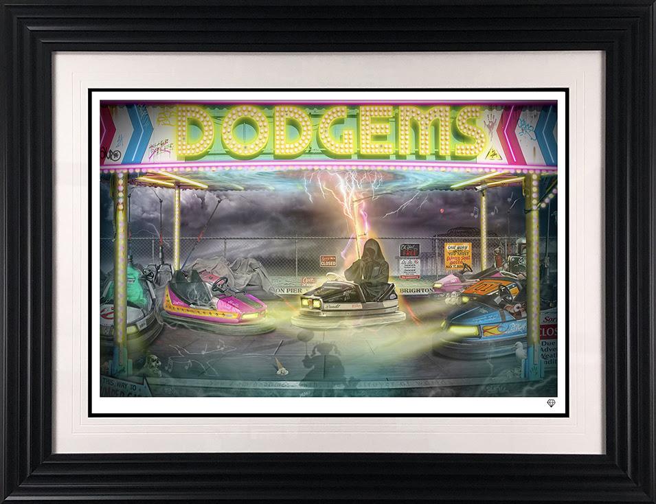 dodgemns framed v