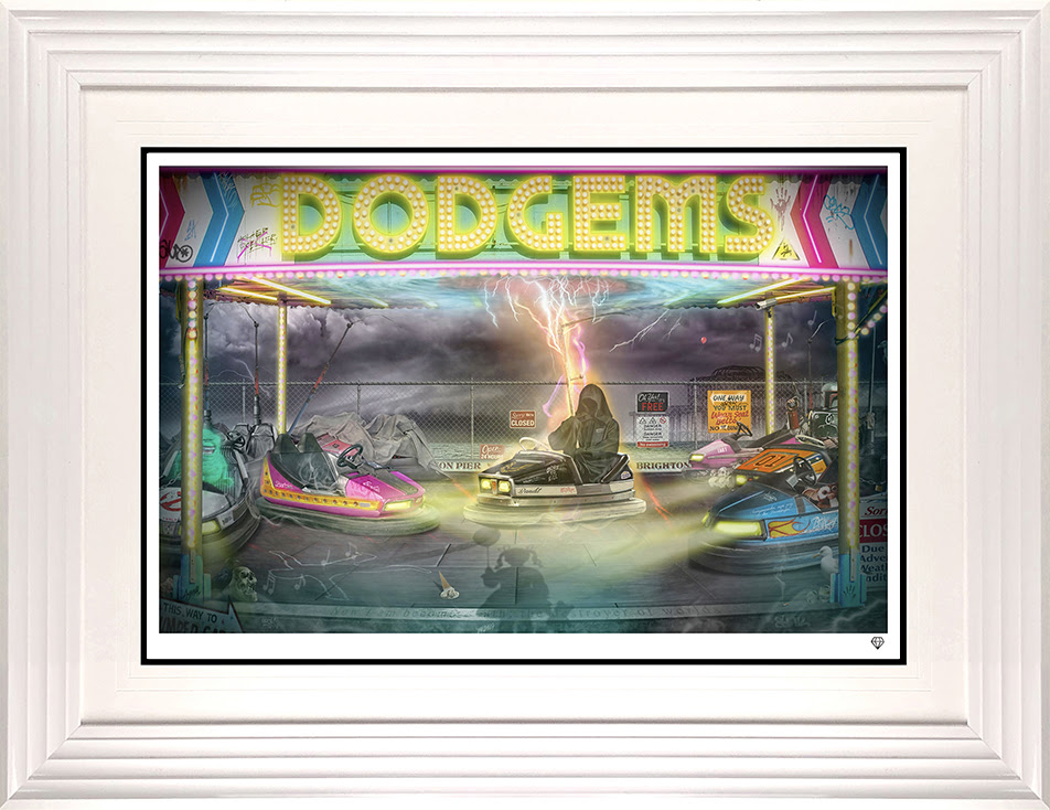 dodgems framed w