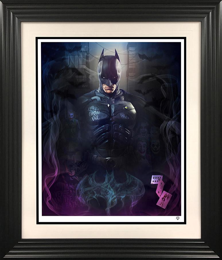 the bat framed