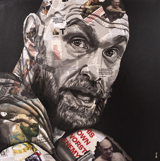 """""""The Greatest Showman"""" (Tyson Fury) By Chess"""